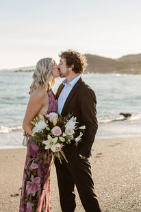 Riverton beach elopement, Southland - New Zealand