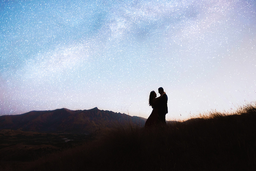 Queenstown pre wedding photos at Moke Lake, the Arrow River and Coronet Peak