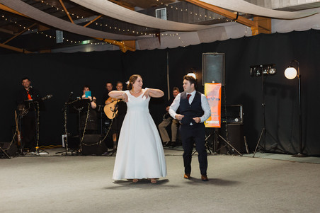 Gore wedding with bridal party photos at the St James theatre