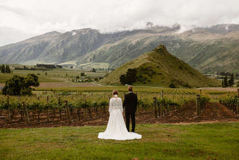 Queenstown wedding at Mt Rosa Lodge