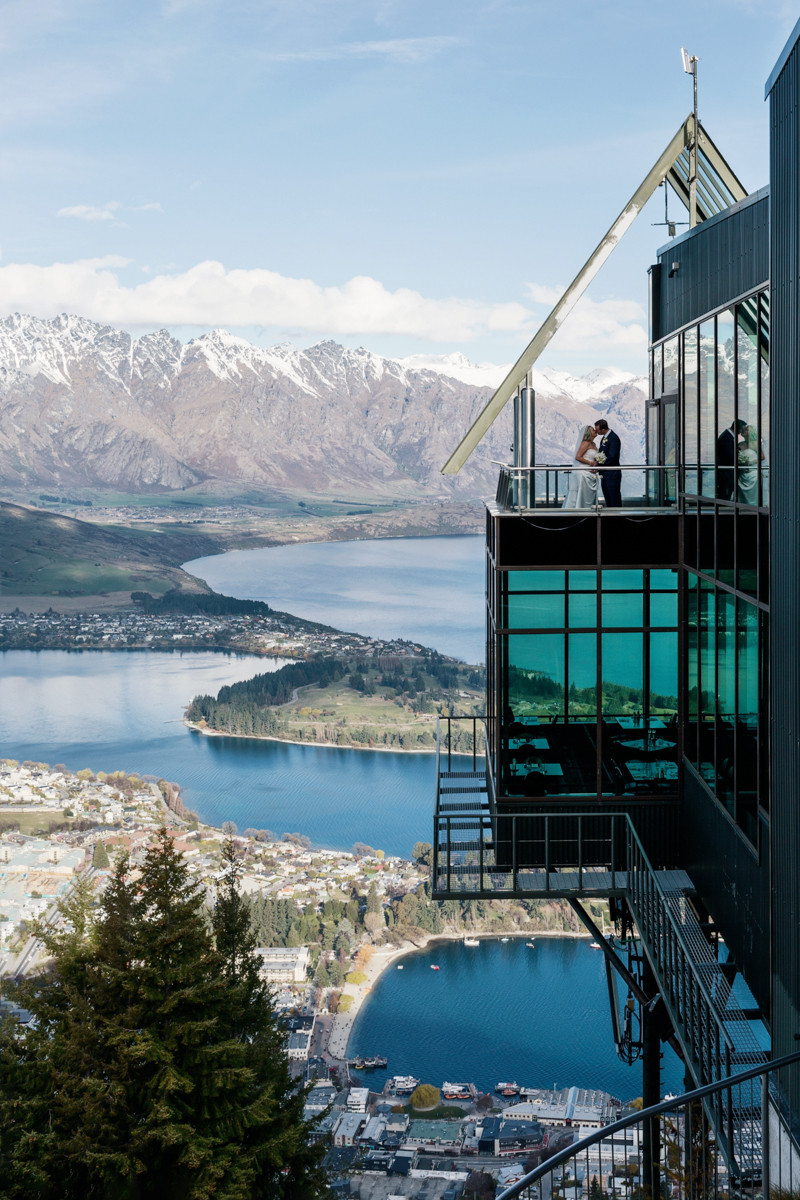 Wedding at the Skyline Gondola in Queenstown