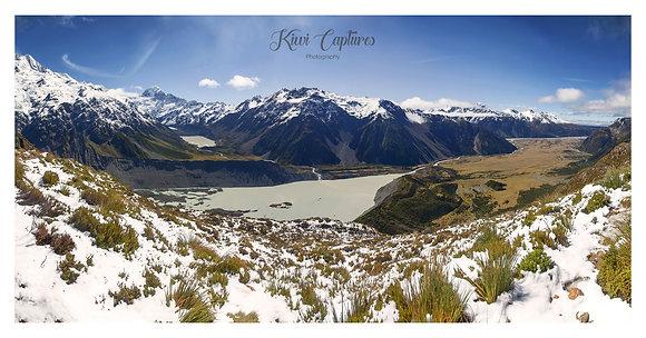 Sealy Tarns - Mount Cook, Panorama