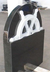 Nautical Themed Headstone in Invercargill