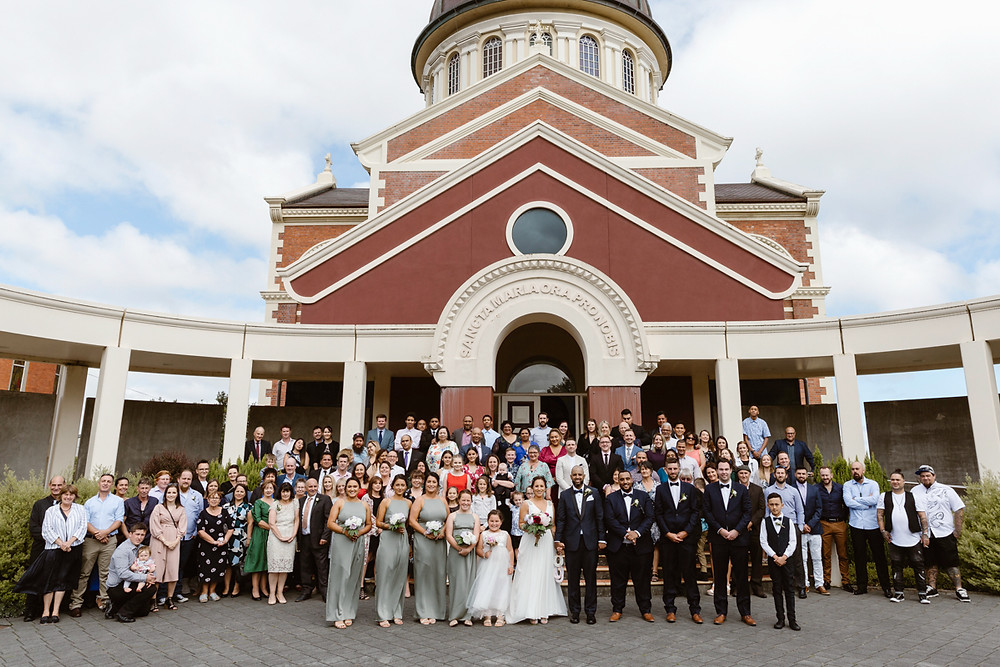 Invercargill wedding at St Marys Basilica