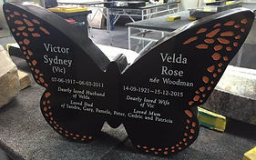 Monarch Butterfly Headstone