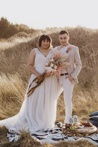 Sunset Picnic Elopement Styled