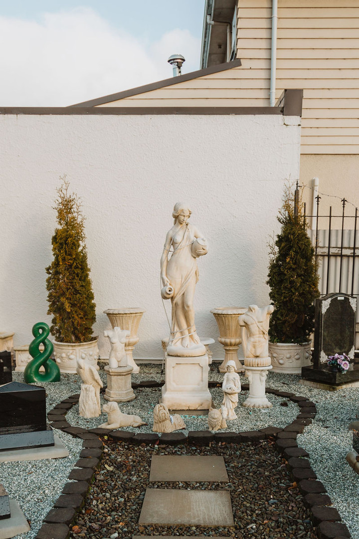 Headstones and Garden Statues in Invercargill