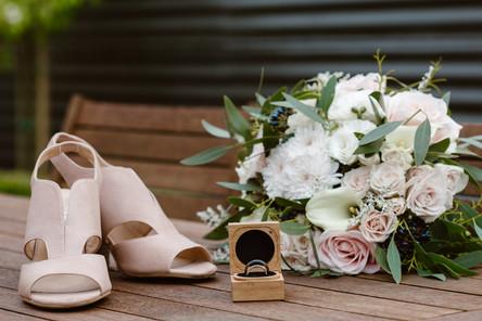 Wedding at the Hideaway 201 in Winton