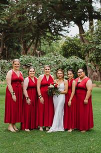 Invercargill wedding with bridal photos at Queens Park
