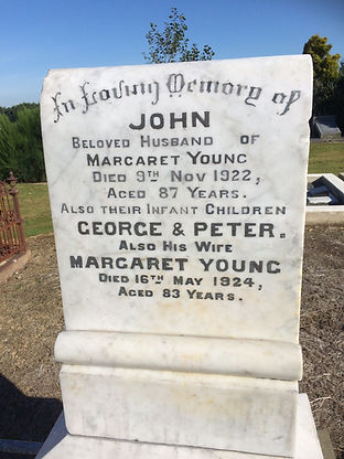 Newly Restored Headstone in Invercargill