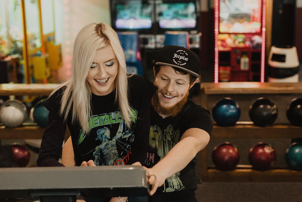 Invercargill retro bowling alley