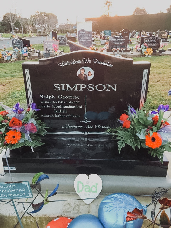 Beautiful Invercargill Headstone
