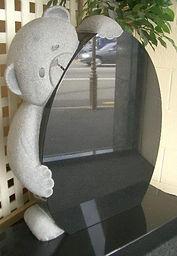 Cute Teddy Bear Headstone