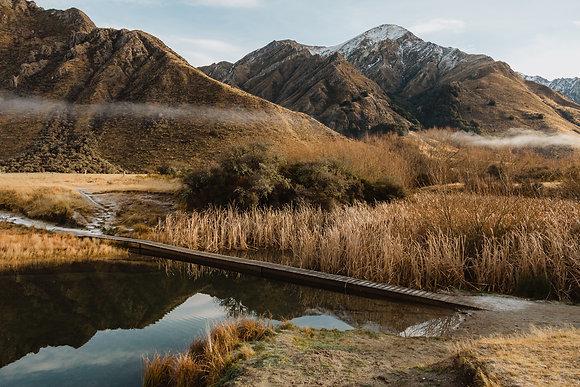 Moke Lake Winter