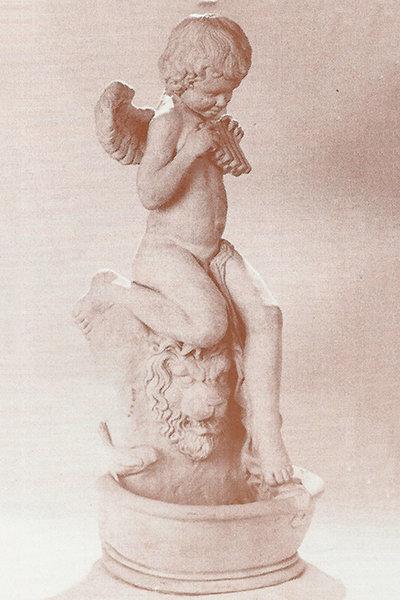 Cherub and Lion Fountain