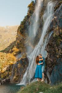 Wanaka Waterfall Engagment