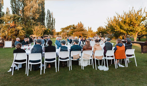 The Packing Shed Wedding in Alexandra - outdoor reception