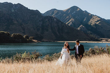 Moke Lake Wedding in Queenstown