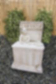 Santa Fe Stone Statues