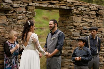 Wedding day at Danseys Pass Old Coach Inn