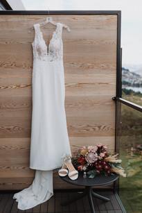Queenstown winter wedding at Kamana Lakehouse