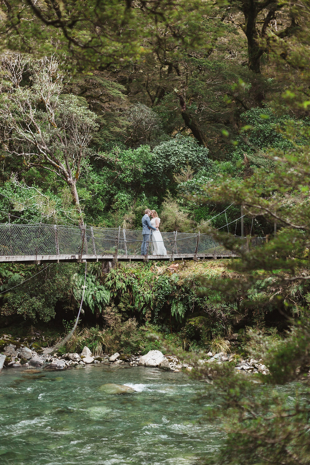 Milford Sound elopement photographer - New Zealand
