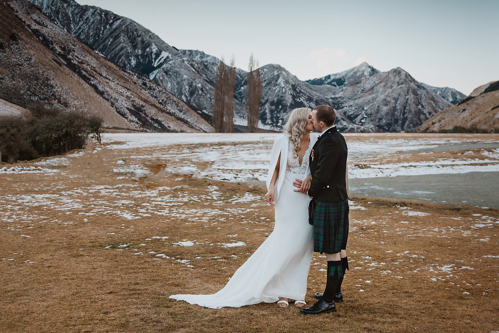Queenstown winter wedding at Kamana Lakehouse