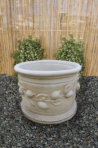 Lemon Planter – Large Round