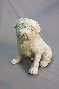 Dog Stone Statues in Invercargill
