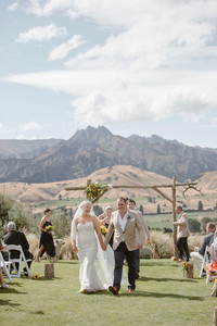 Lookout Lodge wedding in Wanaka