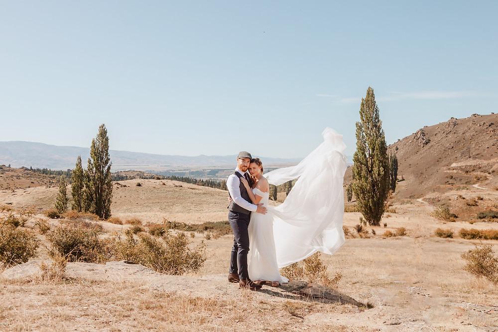 Wedding Day Photos at Conroy's Dam - Alexandra