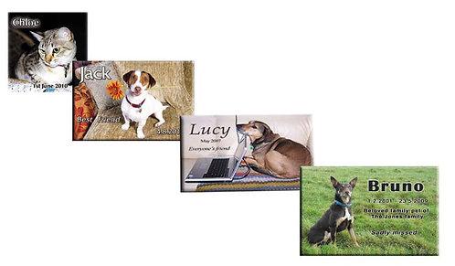 Stock Pet Memorial Plaques