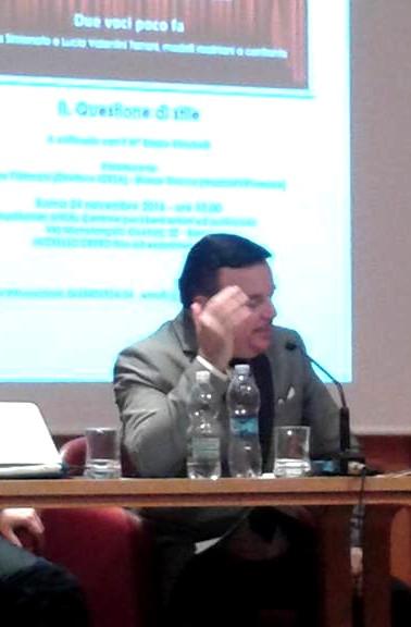 """Marco Stacca, Enrico Stinchelli e Gianluca Rossi discutono intorno a """"Nacqui all'affanno"""" dalla """"Cenerentola"""" di Rossini"""