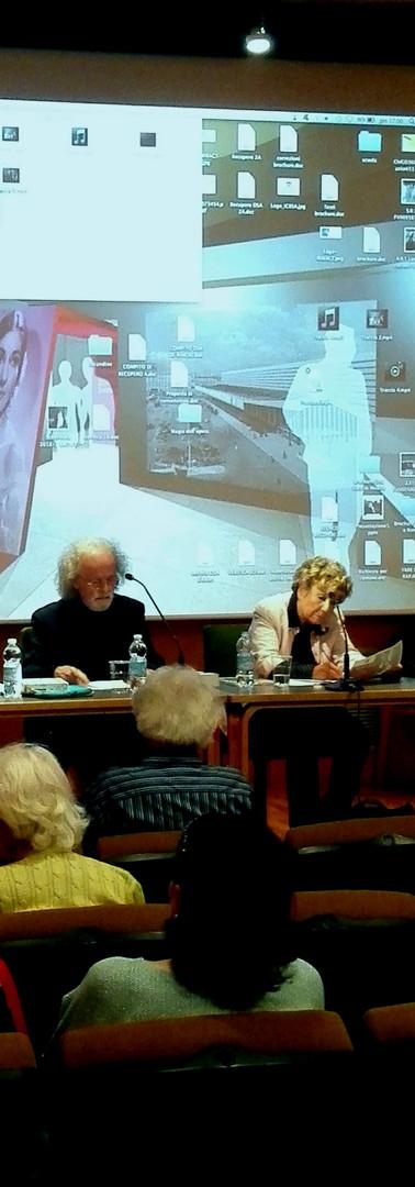 """Franco Carlo Ricci e Dacia Maraini per """"Callas e Roma"""""""