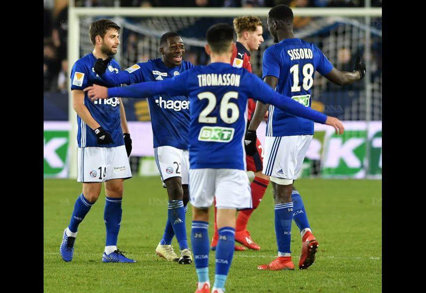 La joie après la victoire en demi finale (Photo DNA - Laurent Réa)