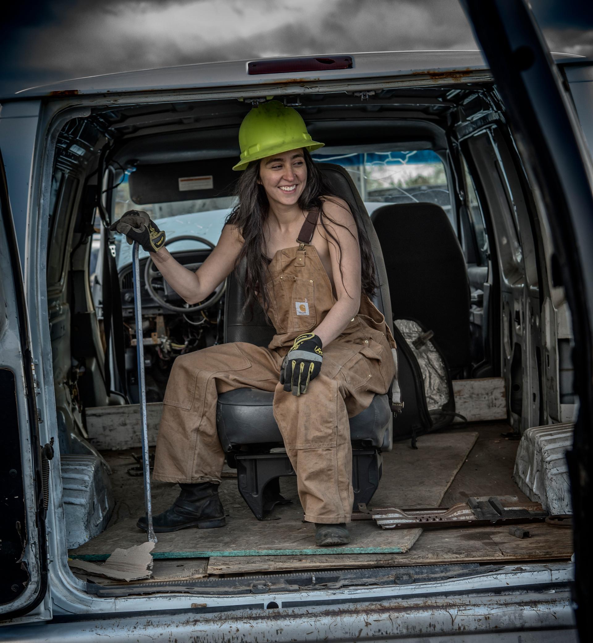 Jordan in the van.jpg