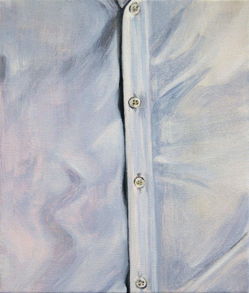 Plain Shirt, oil paint on canvas, 20 x 30 inches