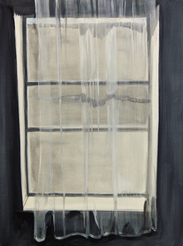 Your Window, oil paint on canvas, 10 x 20 inches