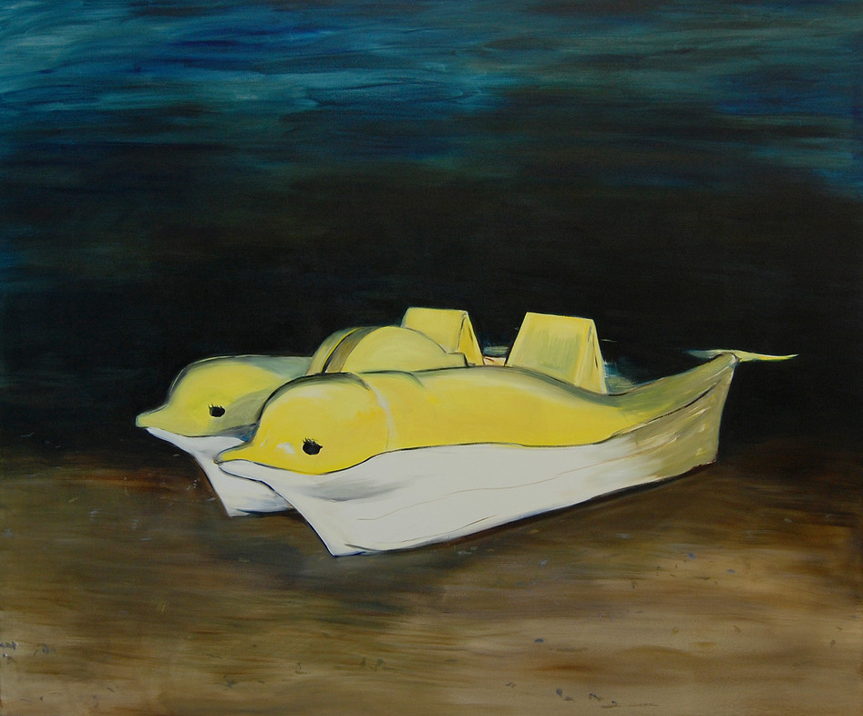Yunus, oil paint on canvas, 150 x 180 cm