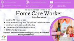 Home Care Worker - Souris