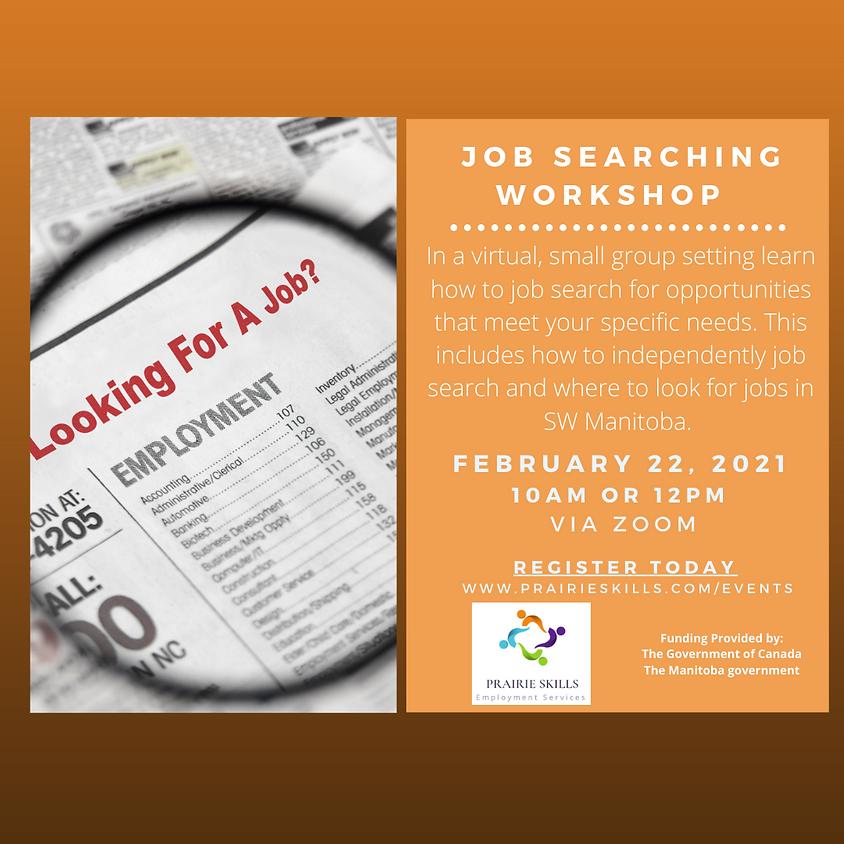 Job Search Workshop  10 AM