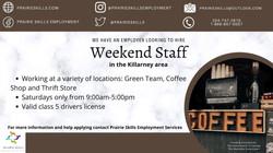 Weekend Staff - Ninette