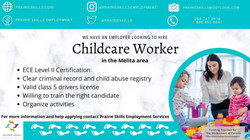 Early Learning Childcare Worker