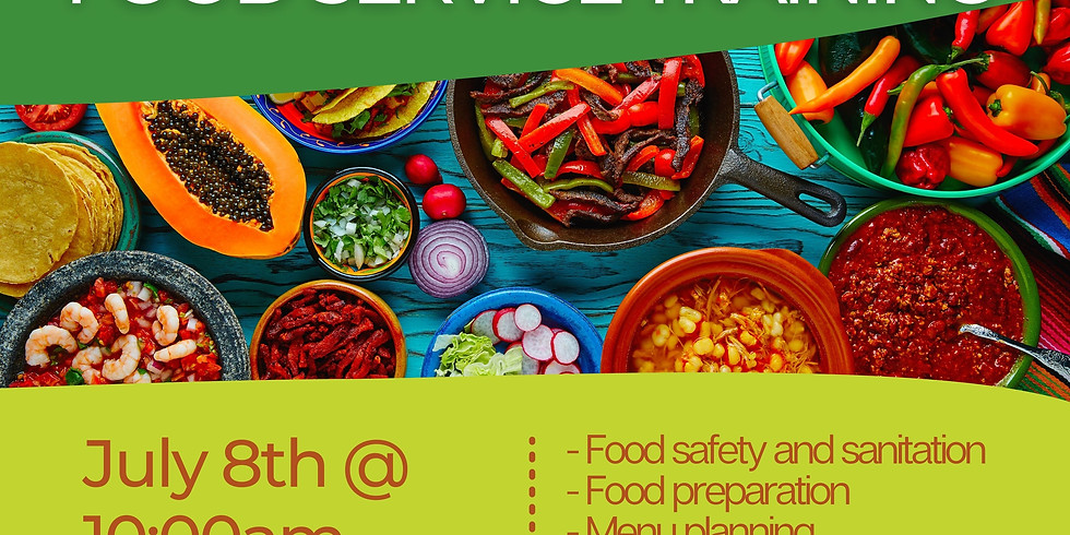 Healthcare Food Service Training Info Session