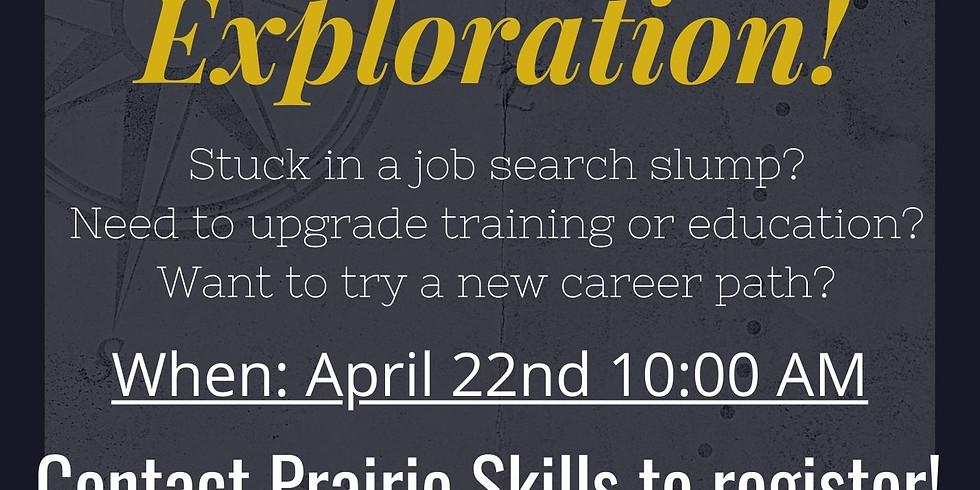 April 22 - 10am Career Exploration