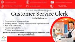 Customer Service Clerk - Coop Pierson