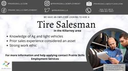 Tire Salesman