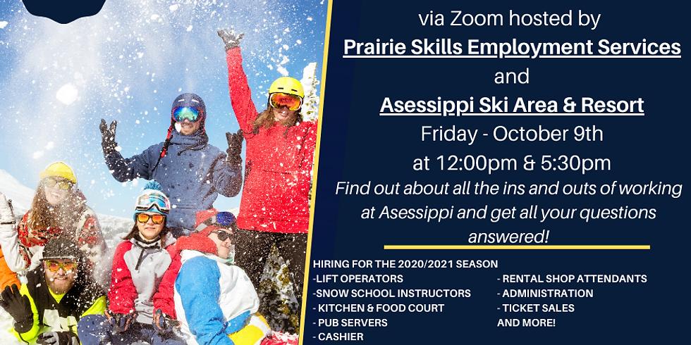 Asessippi Ski Area & Resort Information Session