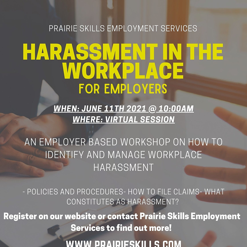 Harassment in the Workplace - For Employers