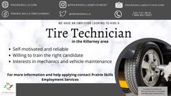 Tire Technician   - Killarney